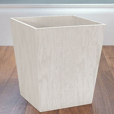 LaMont Meadow Waste Baskets; White