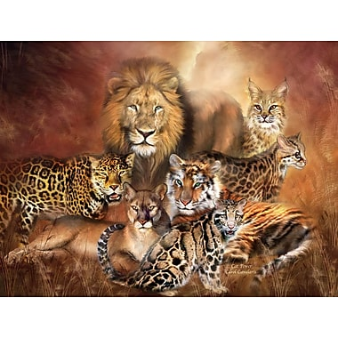 Wallhogs Cavalaris Cat Power Poster Wall Mural; 45.5'' H x 60'' W