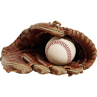 Wallhogs Glove/Ball Cutout Wall Decal; 14'' H x 24'' W