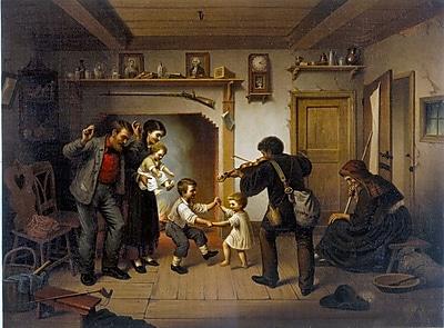 Wallhogs Buell Power of Music (1872) Wall Mural; 26.5'' H x 36'' W