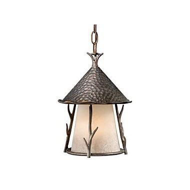 Vaxcel Woodland 1-Light Outdoor Pendant