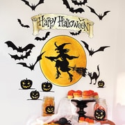 Wallies Happy Halloween Holiday Wall Decal (Set of 2)