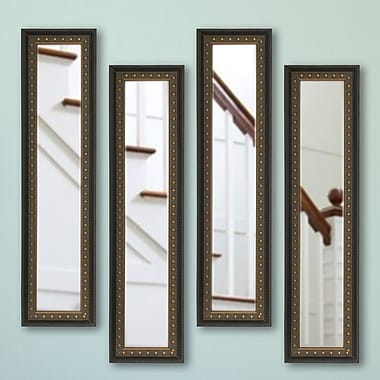 Rayne Mirrors Molly Dawn Mirror Panel (Set of 4); 13.5 X 27.5