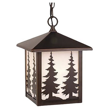 Vaxcel Yellowstone 1-Light Outdoor Hanging Lantern