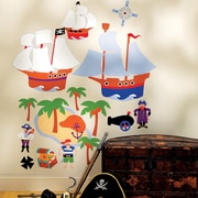 Wallies Olive Kids Pirates Wall Decal