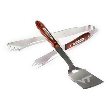 BSI Products 2 Piece BBQ Grilling Tool Set; Virginia Tech Hokies