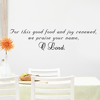 Pop Decors We Praise Your Name Wall Decal