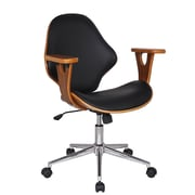 AdecoTrading Bentwood Mid-Back Desk Chair