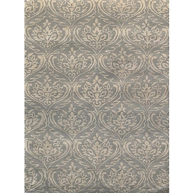 AMER Rugs Serendipity Hand-Tufted Silver Sand Area Rug; Rectangle 8' x 11'