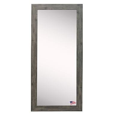 Rayne Mirrors Barnwood Wall Mirror; Gray