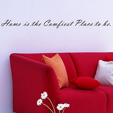 Pop Decors Home Is the Comfiest Place to Be Wall Decal
