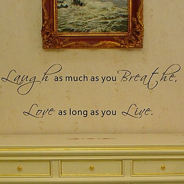 Pop Decors Love as Long as you Live Wall Decal