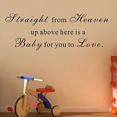 Pop Decors Here is a Baby for You to Love Wall Decal