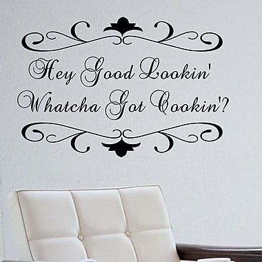 Pop Decors Hey Good Lookin Wall Decal