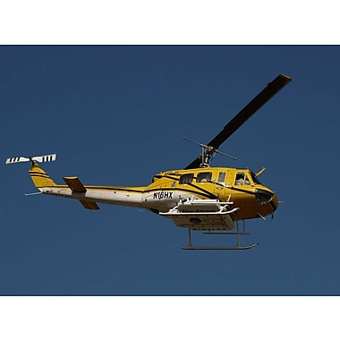 Wallhogs Chibi Fire Attack Helicopter Wall Mural; 17.25'' H x 24'' W