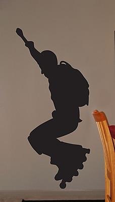 Wallhogs Roller Blade Silhouette III Cutout Wall Decal; 36'' H x 16.5'' W WYF078278162079