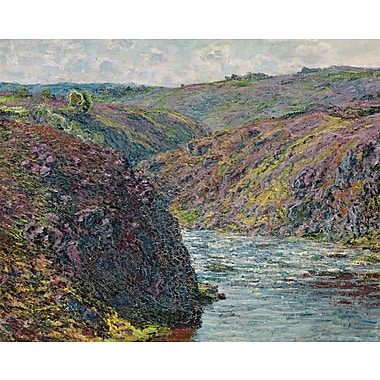 Wallhogs Monet Ravines of The Creuse at The End of The Day (1889) Poster Wall Mural; 19'' H x 24'' W