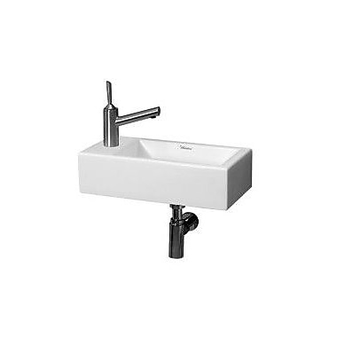 Whitehaus Collection Isabella Vitreous China 20'' Wall Mount Bathroom Sink