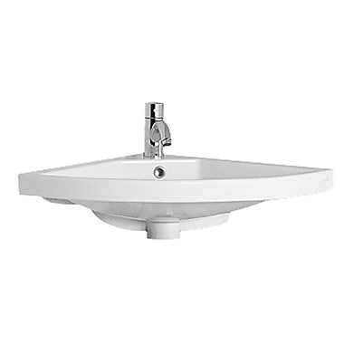 Whitehaus Collection China 29'' Wall Mount Bathroom Sink w/ Overflow