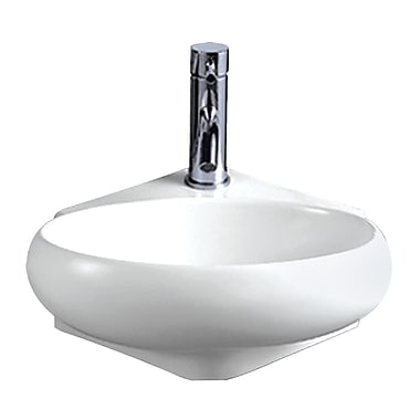 Whitehaus Collection Isabella Vitreous China 15'' Wall Mount Bathroom Sink