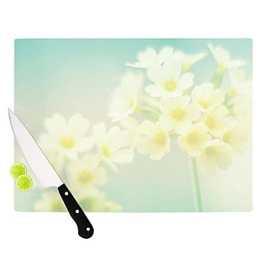 KESS InHouse Happy Spring Cutting Board; 15.75'' W x 11.5'' D