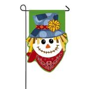 Evergreen Enterprises, Inc Happy Scarecrow Garden Flag