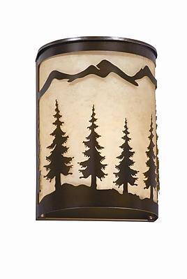 Vaxcel Yosemite 1-Light Wall Sconce