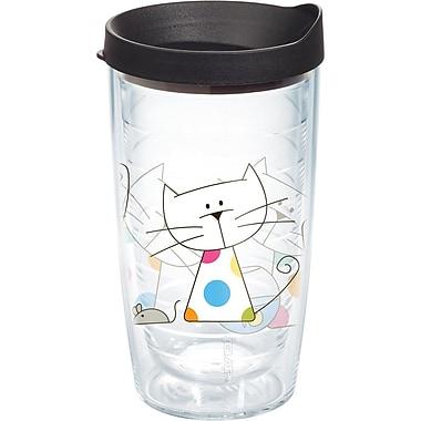 Tervis Tumbler Pets Polka Dot Cat 16 Oz. Tumbler w/ Lid
