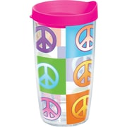 Tervis Tumbler Totally Kids Peace Signs 16 Oz. Tumbler w/ Lid