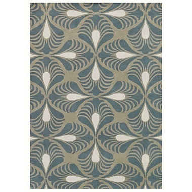 AMER Rugs Bombay Hand-Tufted Sage Area Rug; Rectangle 2' x 3'
