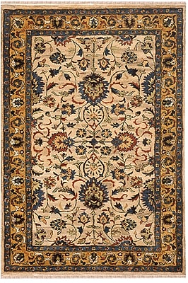 American Home Rug Co. Sultanabad Handmade Beige Antique Area Rug; Runner 2'6'' x 6'