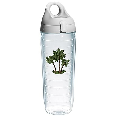 Tervis Tumbler Sun and Surf Palm Tree Three Palms Water Bottle