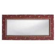 Hickory Manor House Carved Floral Mirror