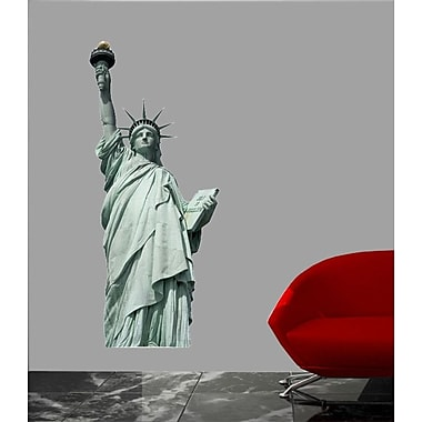 Wallhogs Statue of Liberty Cutout Wall Decal; 24'' H x 10'' W