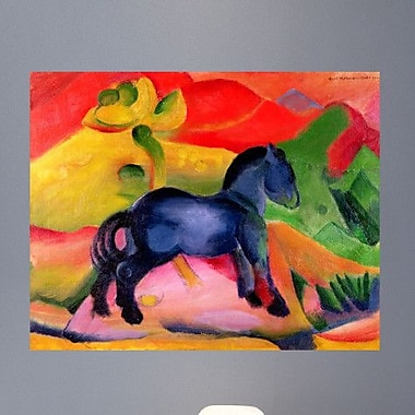 Wallhogs Marc Little Horse (1912) Poster Wall Mural; 38'' H x 48'' W