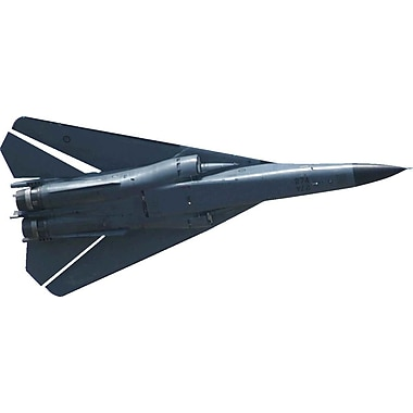 Wallhogs F-111 Aardvark Cutout Wall Decal; 10.5'' H x 24'' W