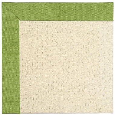 Capel Zoe Off White Indoor/Outdoor Area Rug; Square 6'