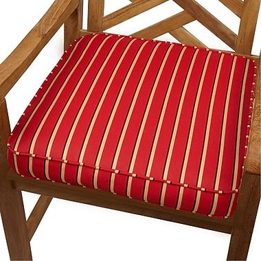 Mozaic Company Outdoor Sunbrella Dining Chair Cushion; 20'' H x 20'' W