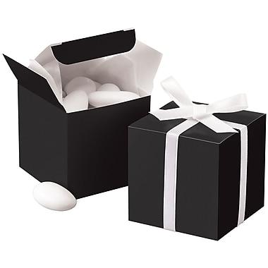 Wilton Square Favor Box; Black