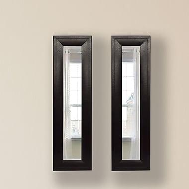 Rayne Mirrors Molly Dawn Mirror Panel (Set of 2); 39.75 H x 15.75 W