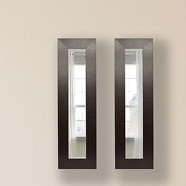 Rayne Mirrors Molly Dawn Mirror Panel (Set of 2); 30 H x 16 W