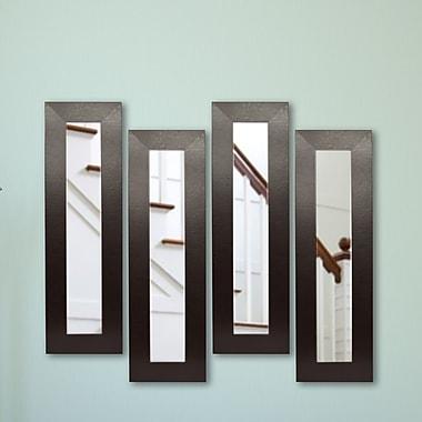 Rayne Mirrors Molly Dawn Mirror Panel (Set of 4); 36 H x 10 W