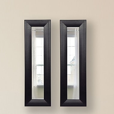Rayne Mirrors Molly Dawn Mirror Panel (Set of 2); 32.75 H x 11.75 W