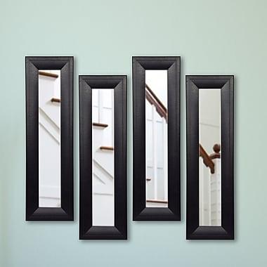 Rayne Mirrors Molly Dawn Mirror Panel (Set of 4); 25.75 H x 9.75 W
