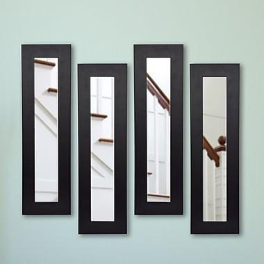 Rayne Mirrors Molly Dawn Mirror Panel (Set of 4); 9.5 X 21.5