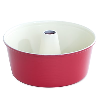 Nordic Ware 12 Cup Angel Food Cake Pan; Red