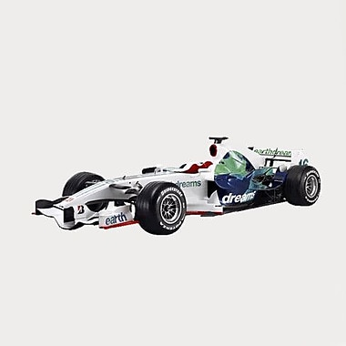 Wallhogs Honda Formula 1 Cutout Wall Decal; 12'' H x 36'' W