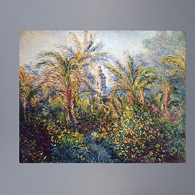 Wallhogs Monet Garden in Bordighera, Impression of Morning (1884) Poster Wall Mural; 48'' H x 60'' W