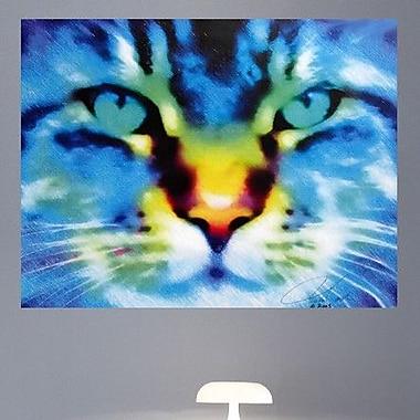 Wallhogs Tymeless Wonders Cat I Wall Mural; 27.5'' H x 36'' W