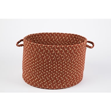 Wildon Home Breighton Basket; Warm Earth